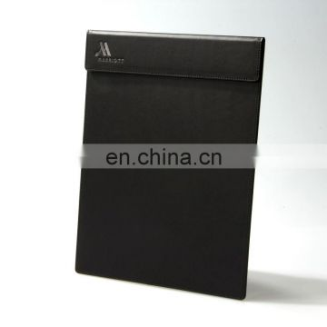 popular selling a5 leather folding clipboard