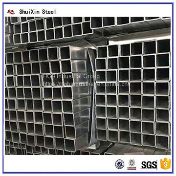 Hot sale GB cold rolled square tube galvanized steel pipe manufacturers china Machine
