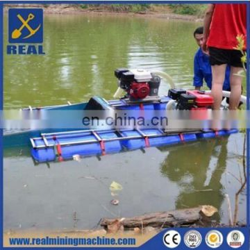 Gold dredging boat river gold mining equipment for sale