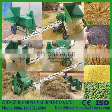 Portable sorghum shellers for threshing carrot seeds,rapeseed,sesame