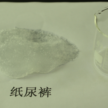 High Absorbency Sap For Baby Diaper China Water Absorbent Polymer