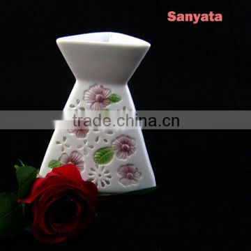 Ceramic Candle Incense Stove Candle And Candle Holder