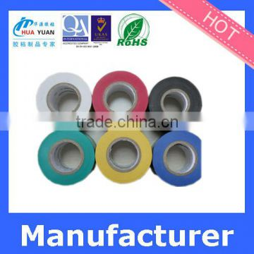 PVC film for UL thick rubber adhesive tape Wholesale blue & white