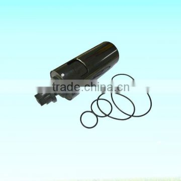 Drain off line filter for air compressor/drain off valve line filter