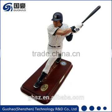 Best gift for business partner or promotional gift sport figurine