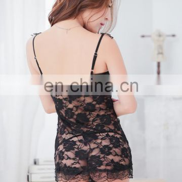 wholesale lace online shopping mature sexy lingerie dress in summer