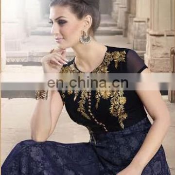 Party wear sequens work suit traditional dress for women