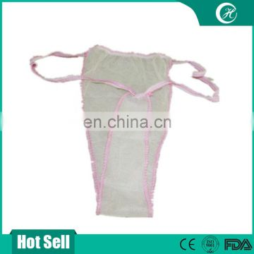Beauty Care Product Disposable G String/Brief/Panty/Thong/Tanga