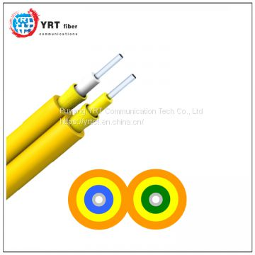 Duplex fiber cable GJFJV indoor optical cable
