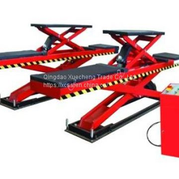 New design wheel alignment scissor car lift 3500kgs