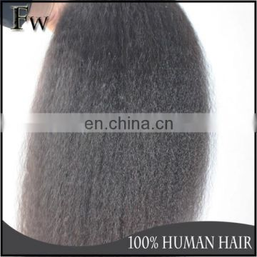 High Quality Full Thick End Top 8A Grade Virgin Hair Malaysian Human Hair Kinky Straight Weaving