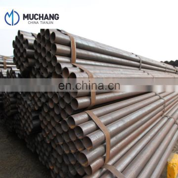 China professional steel mills lancing welded ERW steel pipe Q195 to Q345