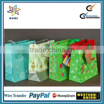 Top sale Christmas Paper Bag with handle