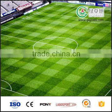 Synthetic grass for soccer fields, football artificial grass used at outdoor