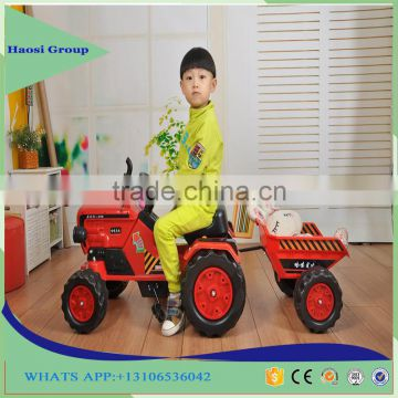 2017 New Kids Gift Electric Power Car Toy Children Riding Tractor