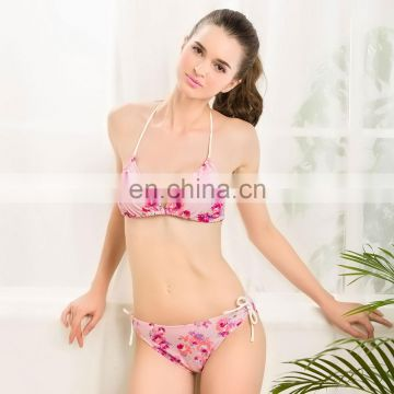 Hot Sale Valentine Mature Lady Halter top Open Young Girl Sexy Bikini Sex Xxx Models