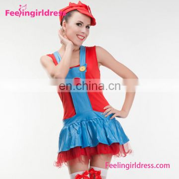 Women Brazil Dress Super Mario Costume Wholesale Carnival Costumes