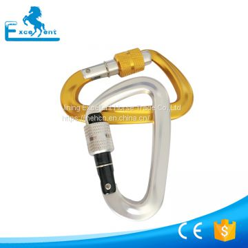 12KN Aluminum Carabiner for dog leashes