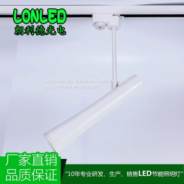 New design commercial LED COB Tracklight Aluminum Housing for clothing store 12W