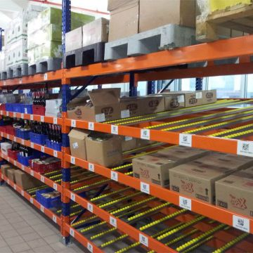Professional Adjustable Easy Access Carton Flow Rack