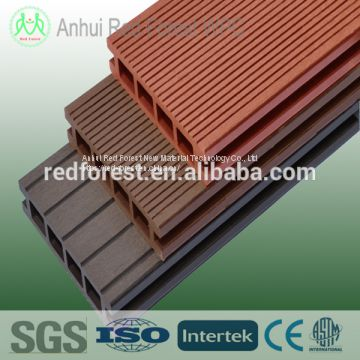 recycle plastic and timber composite decking