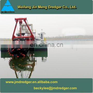 Easy Maintain Portable Cutter Suction Dredger Vessel