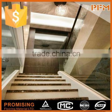 ... Luxury Private Villa Project Use Natural Stone Foldable Stairs Ladder  ...