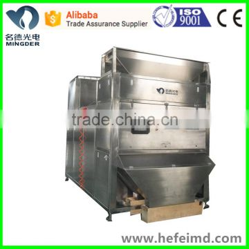 Plastic granules color sorter, color separating machine with high capacity