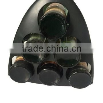6 Bottles plastic wine rack and wine bottle holder