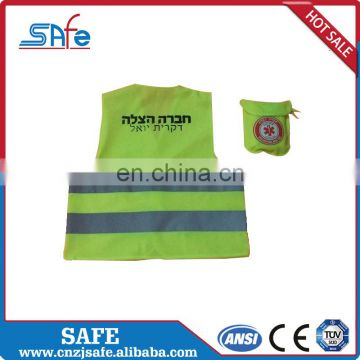 mesh kids safety vest reflective