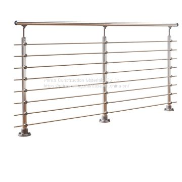 Stainless Steel Rod Balustrade Horizontal Solid Rod Bar Railing