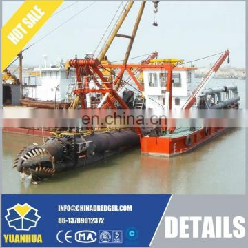 750mm large hydraulic cutter suction dredger coastal dredging