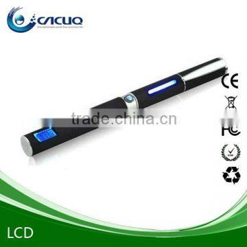Cool LCD display battery e cig with fashionable pen shape
