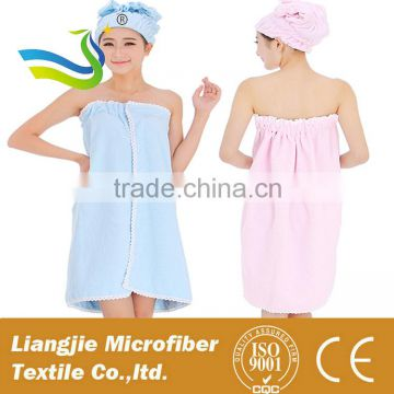 Super soft and easy to clean microfiber hair bath towel alibaba china cap fabric manufacturer china