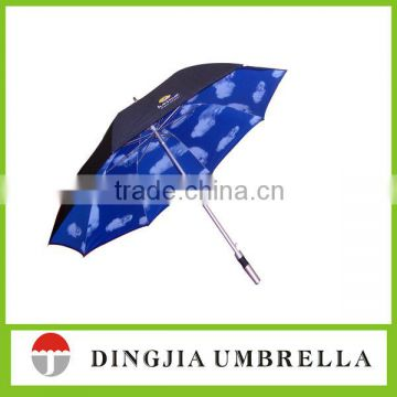polyester fabric straight umbrella full photo printing