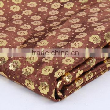 Cheap price wholesale Dyed and Printed 96 polyester 4 spandex fabric pongee waterproof fabric for cloth and curtain