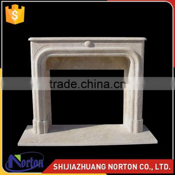 large hand carved marble fireplace travertine mantels NTMF-F525X
