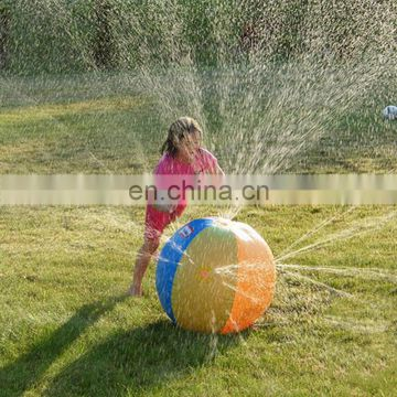 Summer Outdoor Inflatable spraying water ball toy