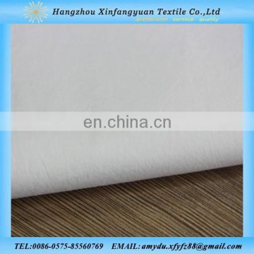 stretch white cotton lycra poplin fabric made in china