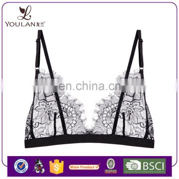 Hot Sale Beautiful Sexy Girl Adjustable Strap bra lingerie