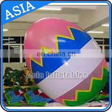 Hot Selling Cheap Funny Inflatable Helium Easter Eggs Balloon Decorating Supplies