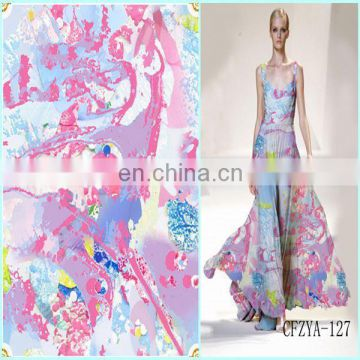 China Manufacturer Fashion Design Polyester Fabric Jacquard Elastic