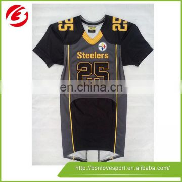 100% polyester Colorful Custom Design Rugby Shirt