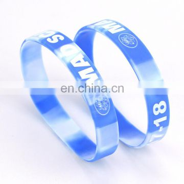 Promotional europe custom silicone wristbands