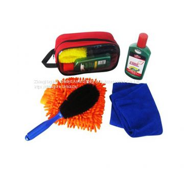 5pcs car cleaning cloth combination set car cleaning products