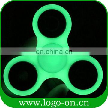 Luminous spinner hand neon fidget spinner EDC toy