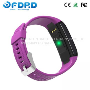 Android and iOS available calorie count heart rate Smart band Custom fitness tracker