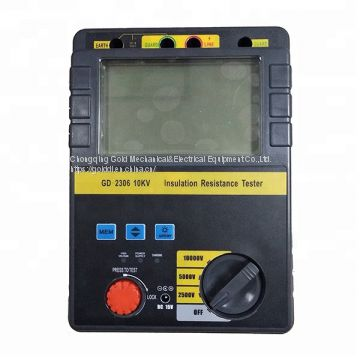 GD-2305/2306 5kV 10kV High Voltage Insulation Resistance Meter Tester