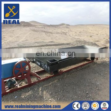 gold separating machine mining shake table with different deck for gold separating and recovery
