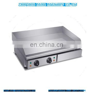 Thick gas stove Teppanyaki equipment iron plate squid grilled cold noodles gas griddle hand cake machine commercial
